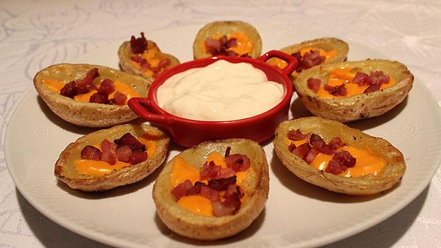 potato1 Potato Skins (Canoas de Batata)
