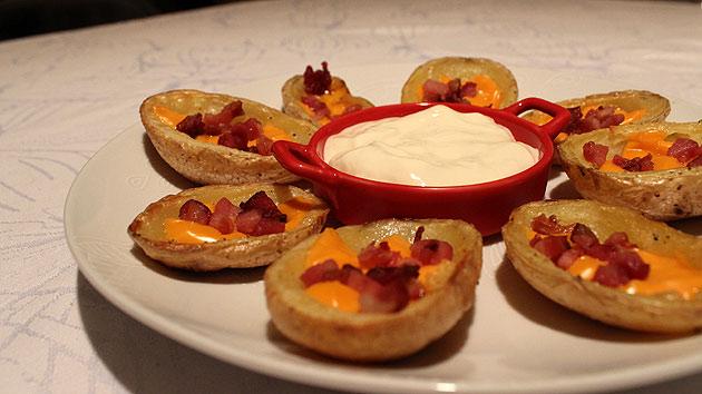 potato2 Potato Skins (Canoas de Batata)