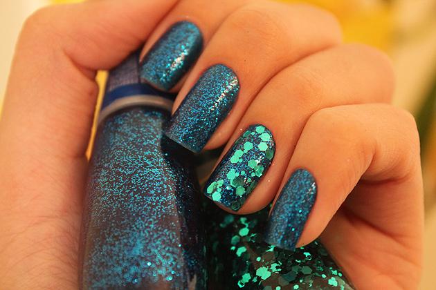 sereia2 Azul Cristalino e Brilho da Sereia