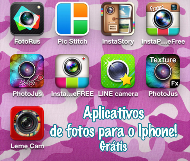 app7 Aplicativos de fotos para Iphone