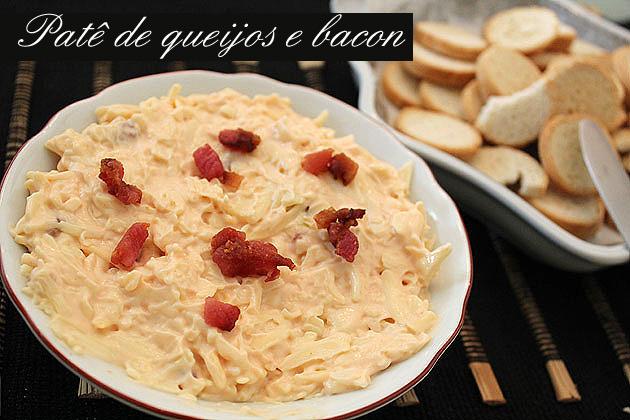 pate1 Patê de queijos e bacon
