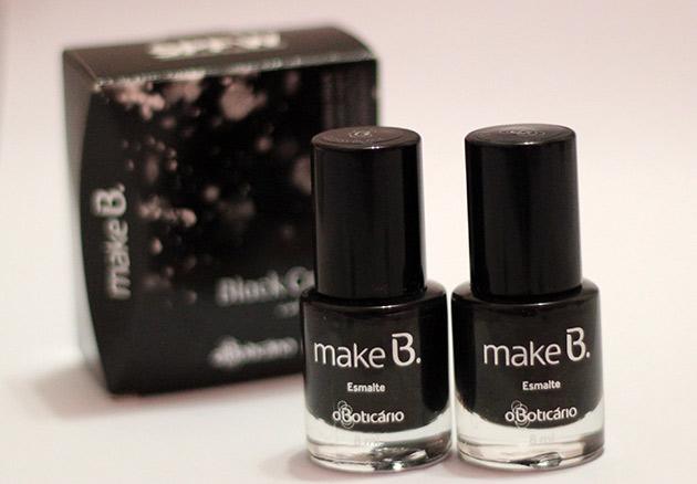 inglesinha1 Kit de esmaltes Black   O Boticário
