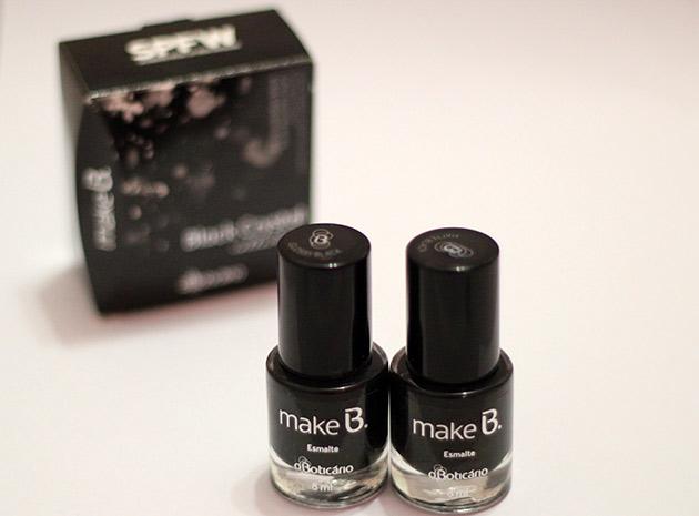 inglesinha2 Kit de esmaltes Black   O Boticário