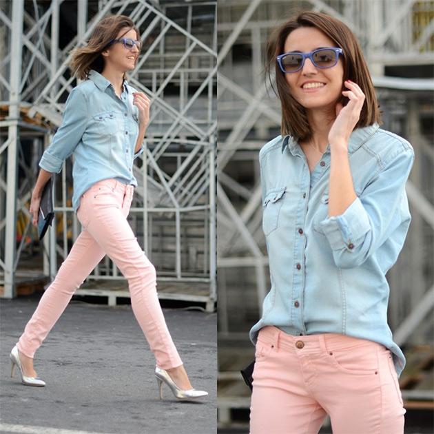 camisajeans4 COMO USAR: Camisa Jeans