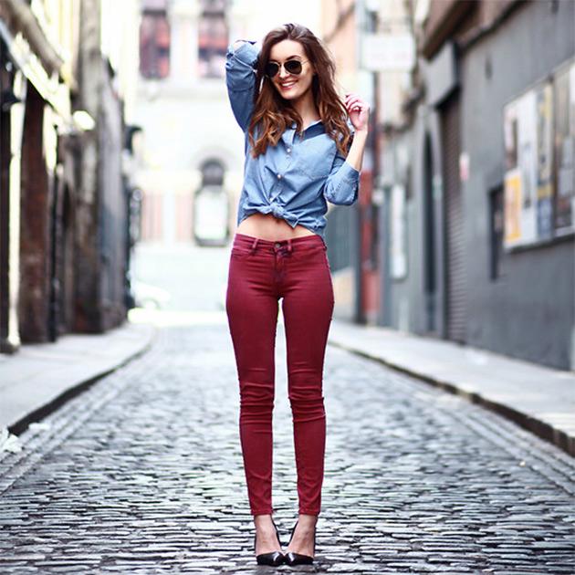 camisajeans5 COMO USAR: Camisa Jeans