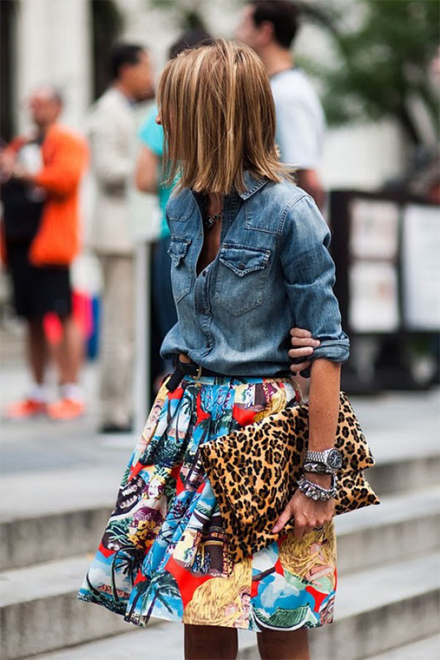 camisajeans6 COMO USAR: Camisa Jeans