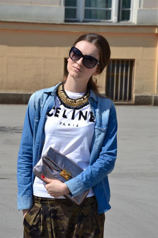camisajeans7 COMO USAR: Camisa Jeans