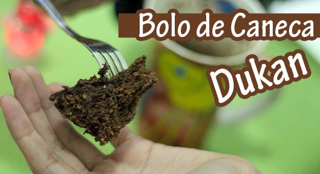 Bolo de Caneca Chocolate Receita Dukan receita fácil