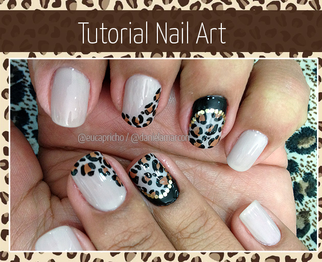 Tutorial Nail Art - Unha Decorada chique