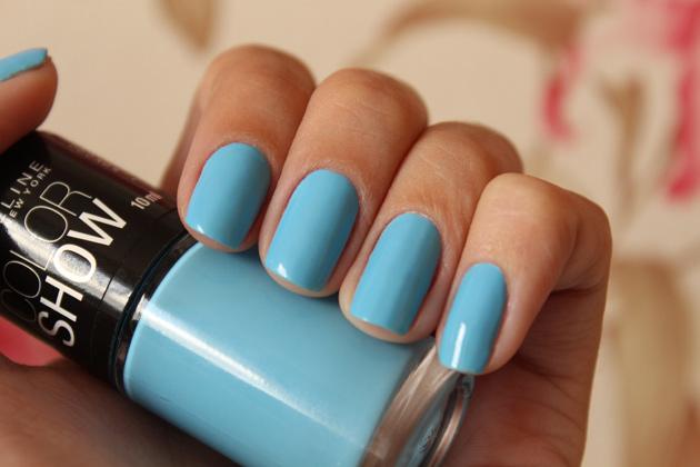 Resultado de imagem para esmalte maybelline 350 cool blue