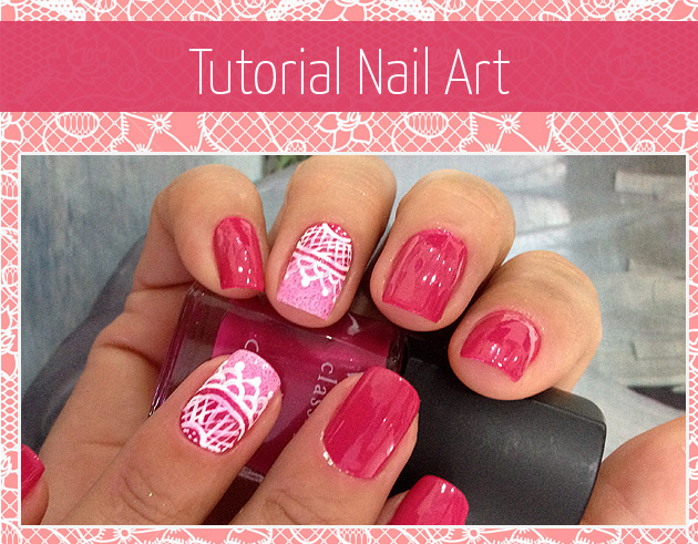 nailart1 TUTORIAL NAIL ART / UNHA DECORADA