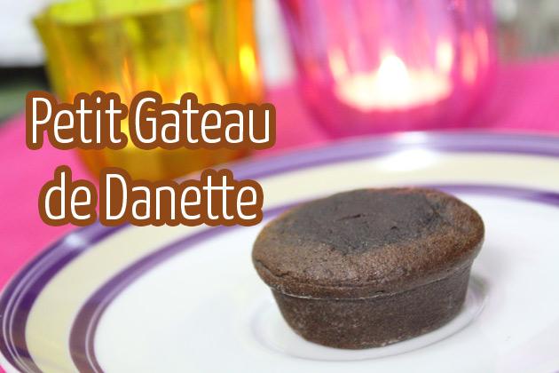Petit Gateau de Danette receita como fazer