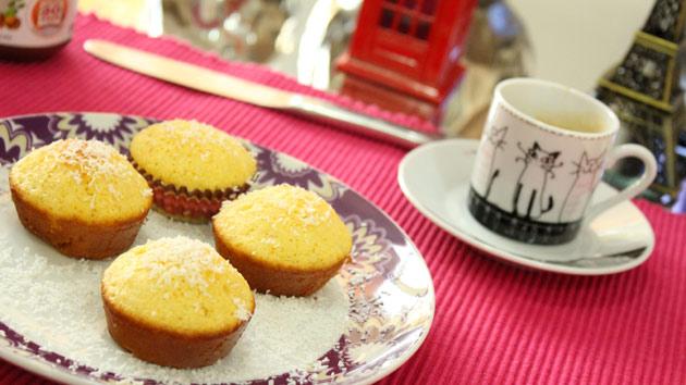 Cupcake de Fubá - DELÍCIA receita completa