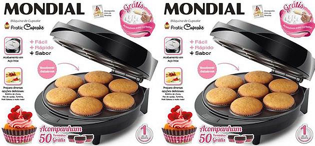 5 Receitas para fazer na máquina de cupcake