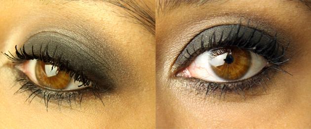 olho preto perfeito
