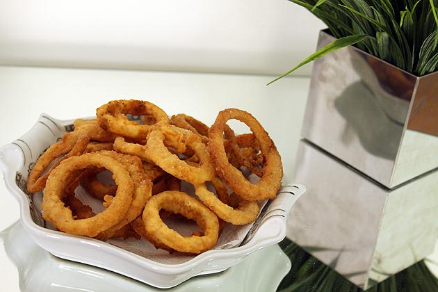 Como fazer Onion Rings cebola empanada receita completa