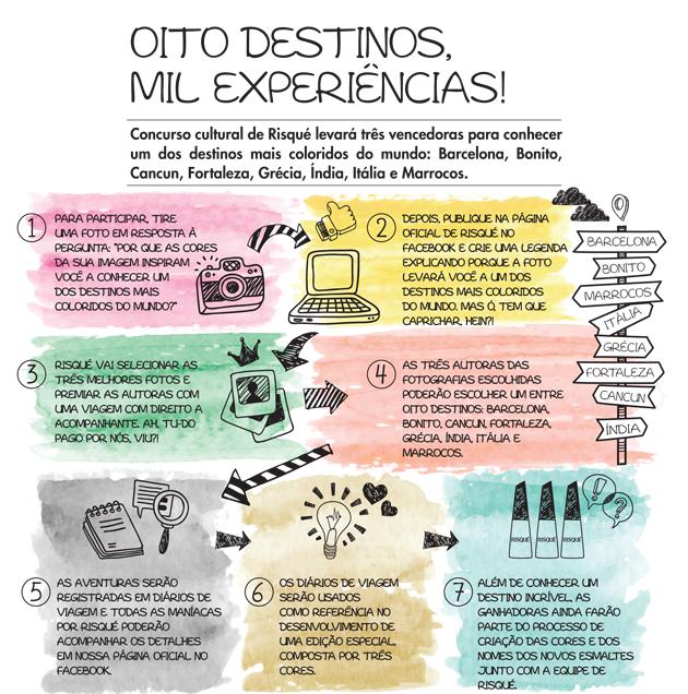 Oito Destinos, mil experiências!!