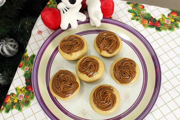 Cupcake de Churros receita completa