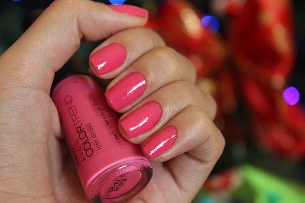 esmalte rosa arrasa