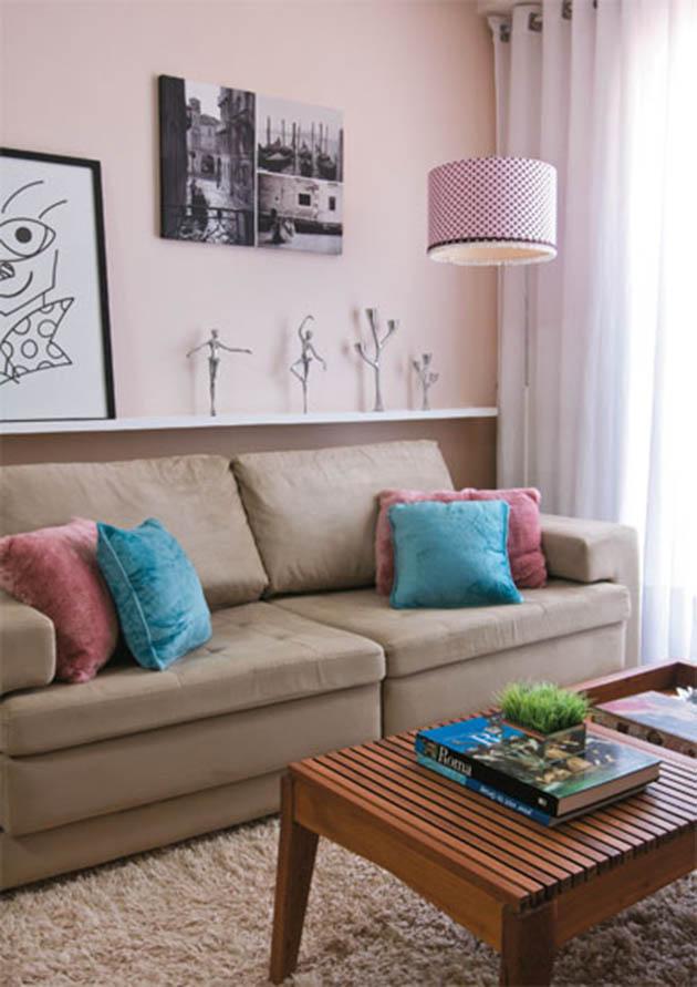 Tipos de tecido na decoração Parte 1 - Sofás