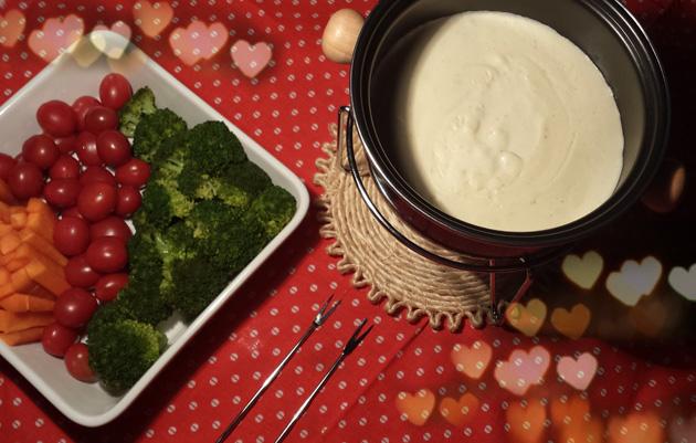 Fondue light 3 queijos