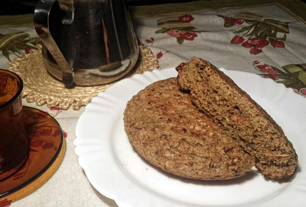 Pão de Frigideira 100% integral receita pão integral receita veja como preparar em casa