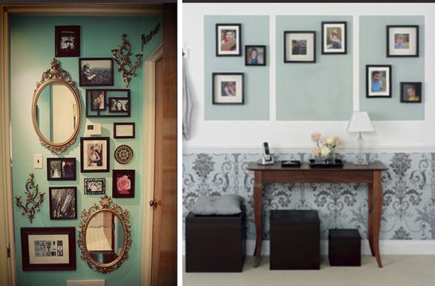 Como montar composição de quadros decorar com quadros