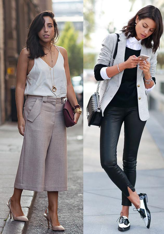 Como modernizar o seu look de trabalho roupa para ir trabalhar