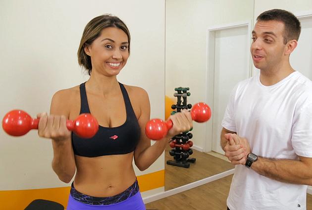 treino para braços exercicios para fazer em casa