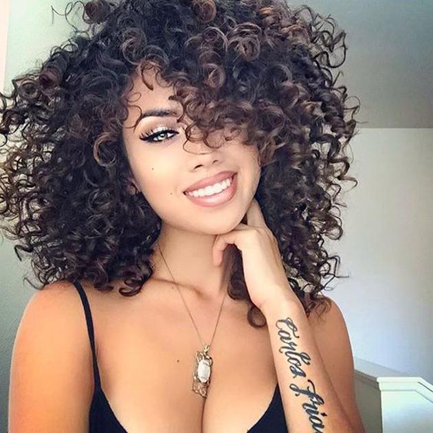 Cabelos cacheados cores tamanhos e estilos cachos,cabelo,cabeloscacheados,hair