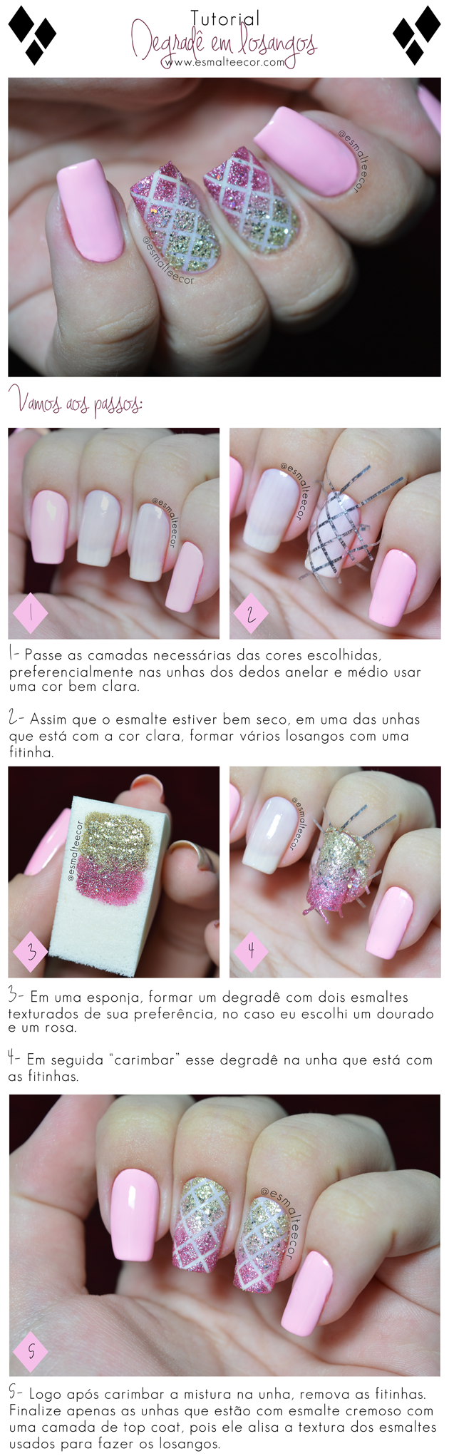 nailart,unhadecorada,passoapasso,degrade