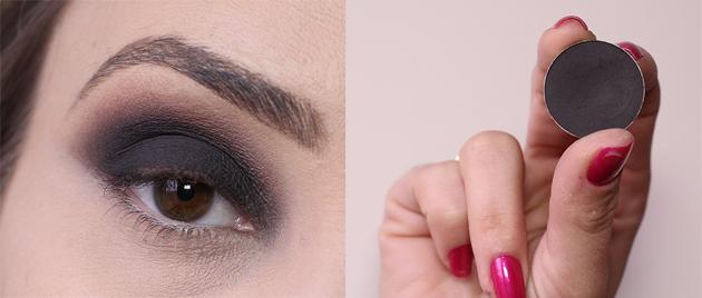 maquiagem passo a passo olhos pretos