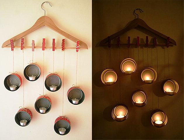4 idéias de decoração com prendedores diy