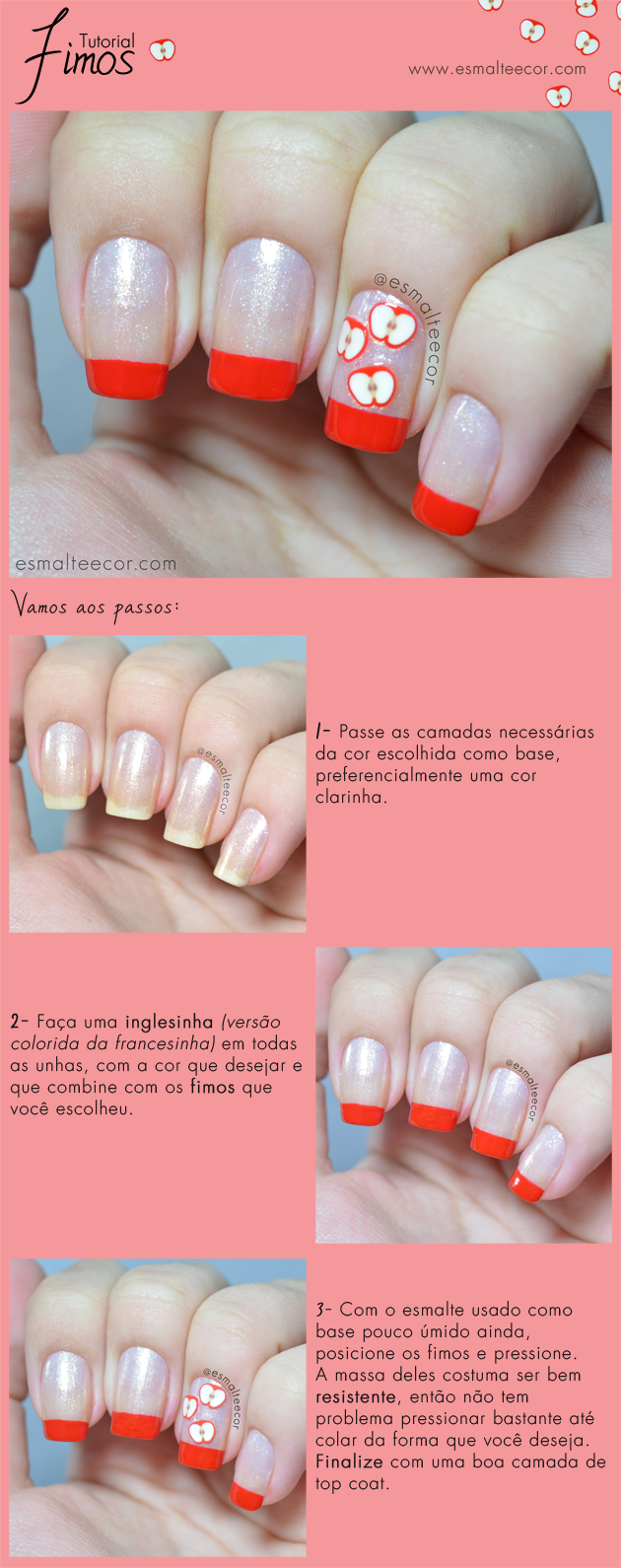 Tutorial Nail Art Fimos