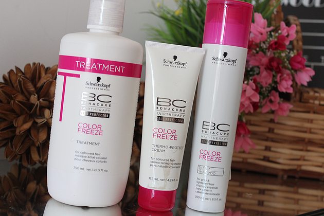 Schwarzkopf Professional BC Bonacure Color Freeze