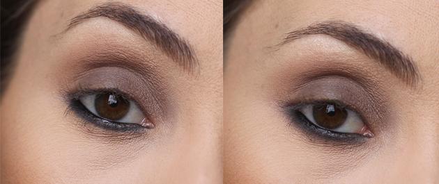 maquiagem usando apenas 1 sombra