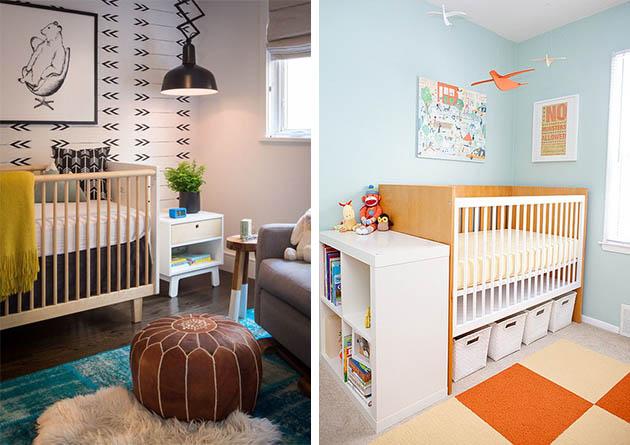 Bebê no quarto dos pais - veja mais dicas e inspirações