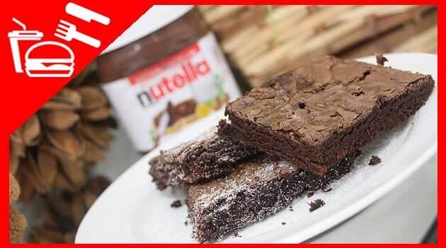 Como fazer Brownie de Nutella receita em video completa