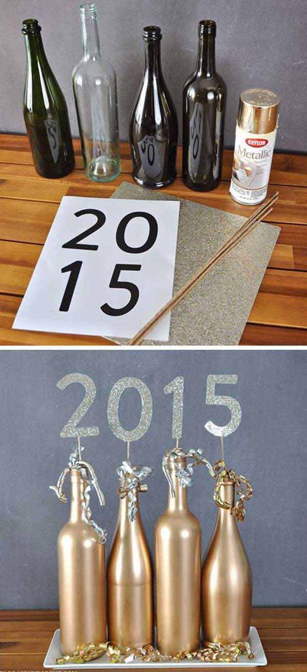 Decoração para o Ano Novo