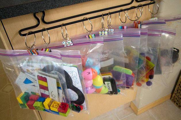 6 formas de guardar brinquedos