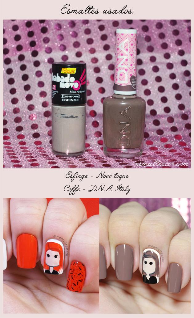tutorial nail art divertida