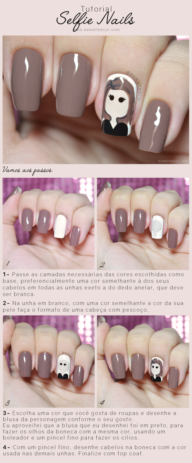 tutorial nail art divertida
