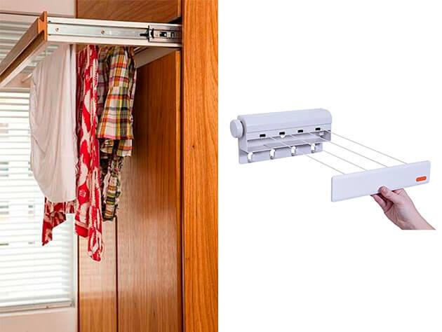 Como escolher o varal certo para espaços pequenos