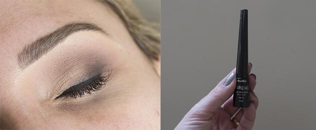 maquiagem esfumada com cores neutras para festa