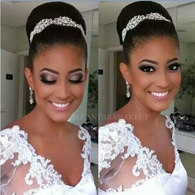 Extremamente Maquiagem para noiva - Makeup casamento - Eu Capricho IN42