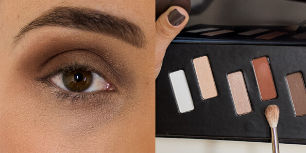 tutorial maquiagem marrom