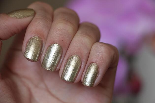 Esmalte Save the date - Dailus esmalte dourado metalizado com boa cobertura e duração esmalte para noivas esmalte para festa e casamento