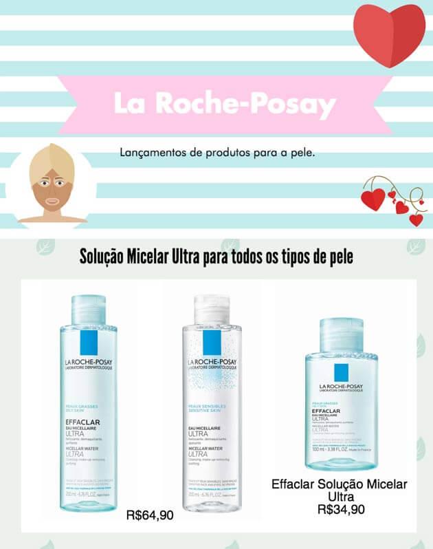 Lançamentos - Abril 2017 - produtos la roche posay produtos para pele