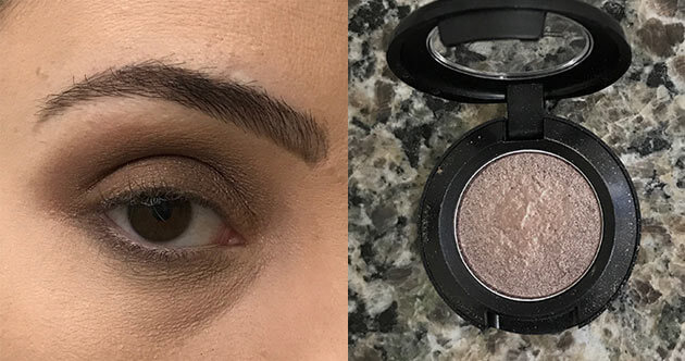 Maquiagem para festa simples de fazer sozinha tons neutros com brilho e marrom tutorial
