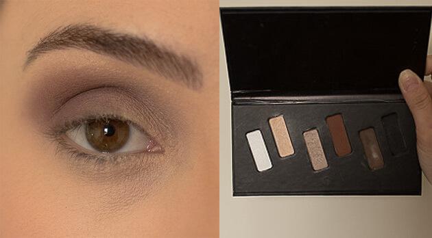 maquiagem para noite marrom com brilho